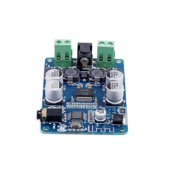 WINGONEER Bluetooth CSR4.0パワーアンプボードチップTDA7492P 25W + 25WステレオBluetoothオ