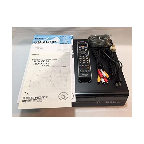 東芝 VARDIA RD-XD92D DVD/HDDレコーダー DVD-Multi/600GB/デジタルWチューナー5% oFF (prem