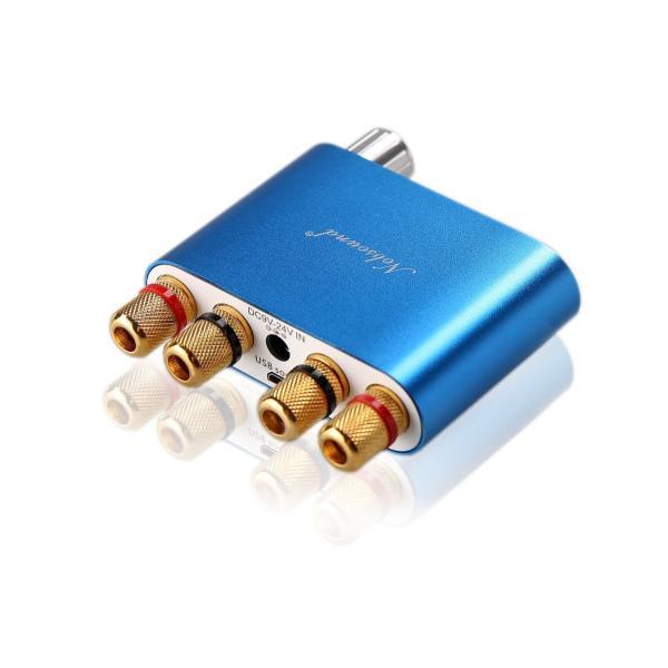 Nobsound NS-10G Mini Bluetooth 4.0 デジタルアンプ 100W HiFi アンプ 電源無し (ブルー)