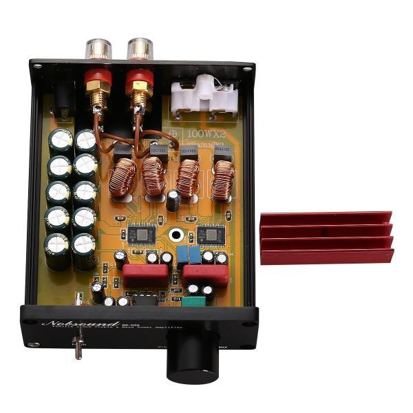 Douk Audio Mini デジタル パワーアンプ HiFi TPA3116 ステレオ 2.0チャンネル オーディオアンプ 50W +