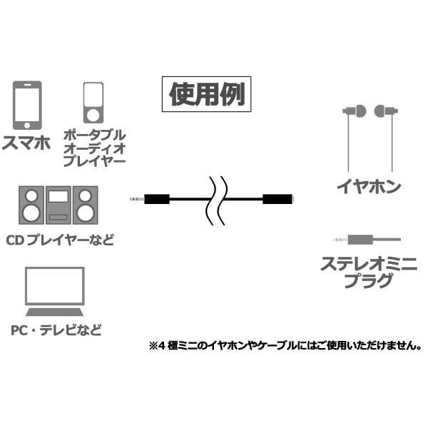 オーディオケーブル 3.5mm ステレオミニプラグと3.5mm ステレオミニジャック ステレオミニ延長ケーブル 20m /C-089
