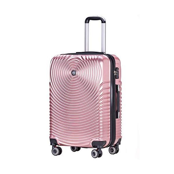 TTOバリジェリアTTOvaligeria スーツケース S機内持込 大型軽量 容量拡張 TSAロック搭載 静音 旅行用品 (S ローズゴー|lucia0322|07