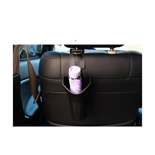 TOPTOMMY カー用品 傘収納ケース 自動車専用 傘ホルダー 折り畳める 傘入れ 簡単装着 スッキリ収納 車内清潔 ゴミ箱 車載用傘収容 lucia0322 03