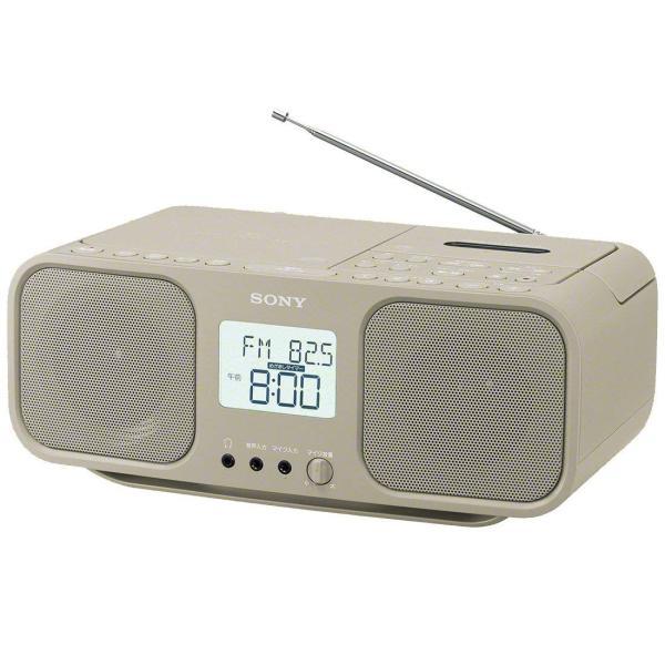 ソニー SONY CDラジオカセットレコーダー CFD-S401 : FM/AM/ワイドFM対応 大型液晶/カラオケ機能搭載 電池駆動可能
