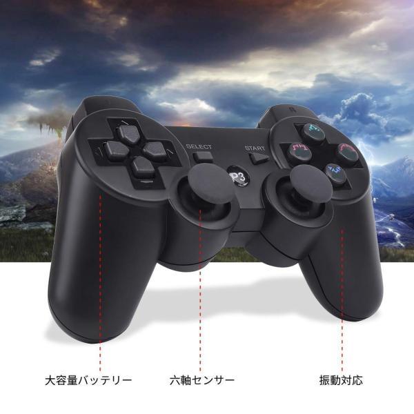 Pueleo PS3用 ワイヤレス デュアルショック3 ワイヤレスコントローラー 対応 日本語説明書 USB ケーブル付属(?) lucia0322
