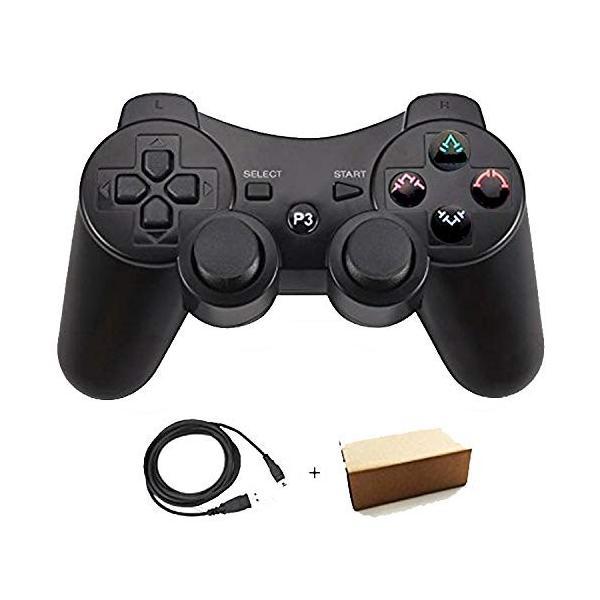 Pueleo PS3用 ワイヤレス デュアルショック3 ワイヤレスコントローラー 対応 日本語説明書 USB ケーブル付属(?) lucia0322 04