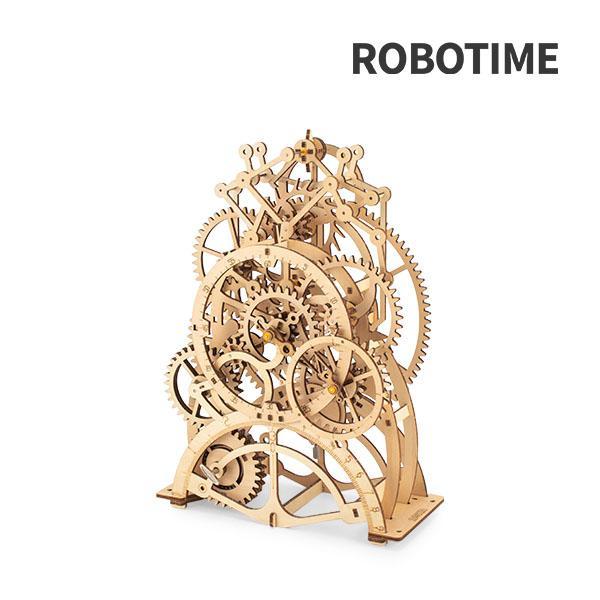 Robotime 振り子時計 LK501 木製 立体 パズル 3Dウッドパズル ロボタイム おもちゃ 組み立てキット
