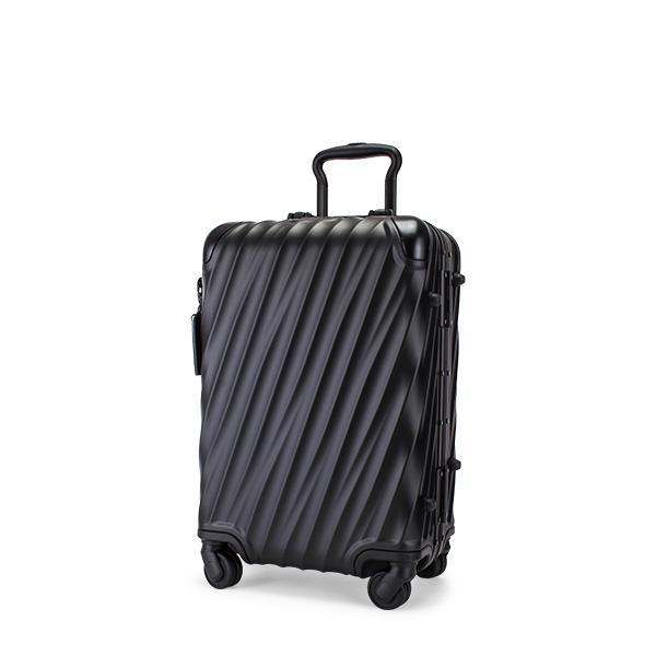 【お盆もあすつく】 トゥミ TUMI スーツケース 35L 4輪 19 Degree Aluminum コンチネンタル・キャリーオン 036861MD2 マットブラック キャリーバッグ
