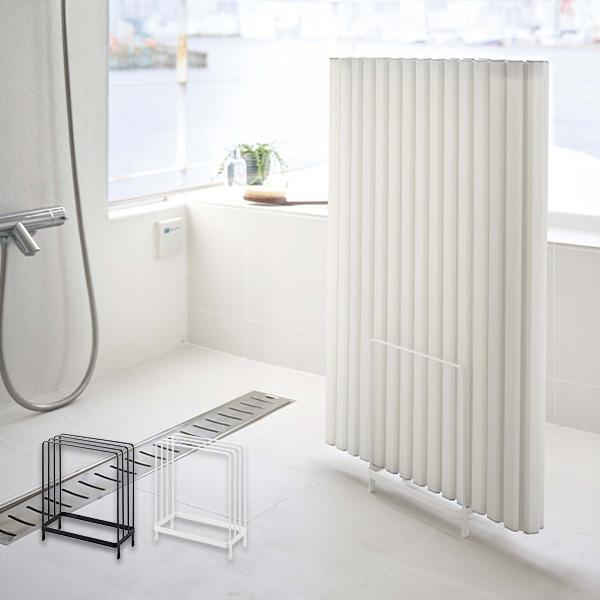 乾きやすい風呂蓋スタンド 風呂ふた 収納 tower タワー 山崎実業 風呂フタ ホルダー ラック おしゃれ