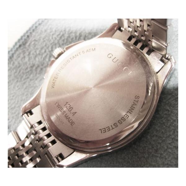 グッチ 腕時計 メンズ G-TIMELESS YA126418  ジャパン リミテッド エディション シルバー 中古 lucio 04