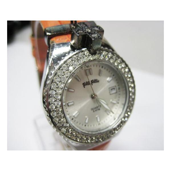 フォリフォリ Folli Folli 時計 腕時計 レディース クオーツ 中古|lucio|04