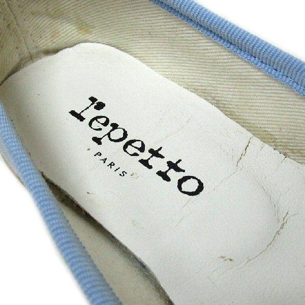 レペット repetto シューズ バレエ フラット パンプス レディース 35 ブルー|lucio|06