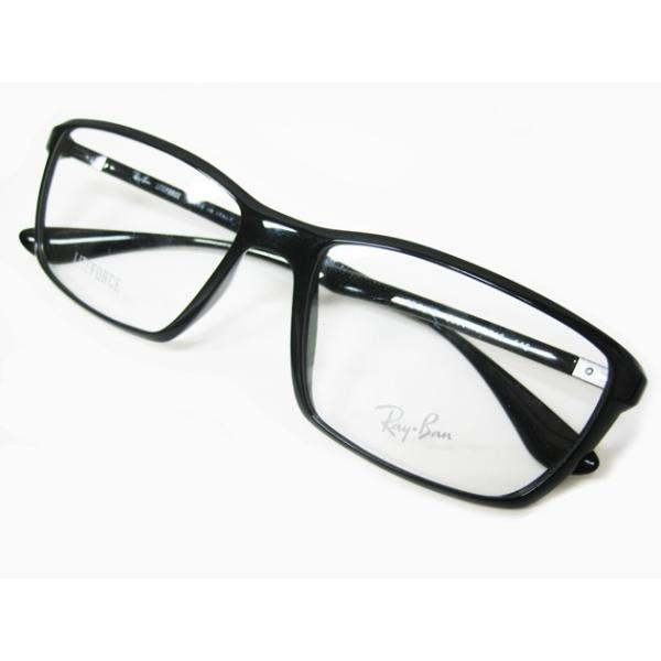 レイバン Ray Ban メガネ 眼鏡 ウエリントン ライトフォース メンズ レディース RB7018 5206 lucio 02