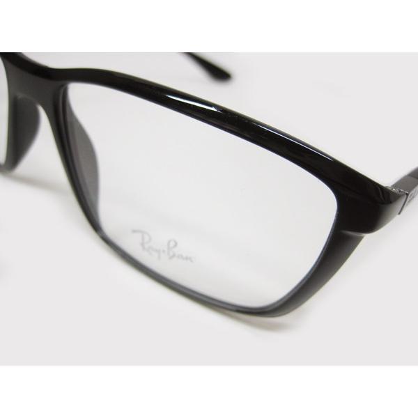 レイバン Ray Ban メガネ 眼鏡 ウエリントン ライトフォース メンズ レディース RB7018 5206 lucio 03