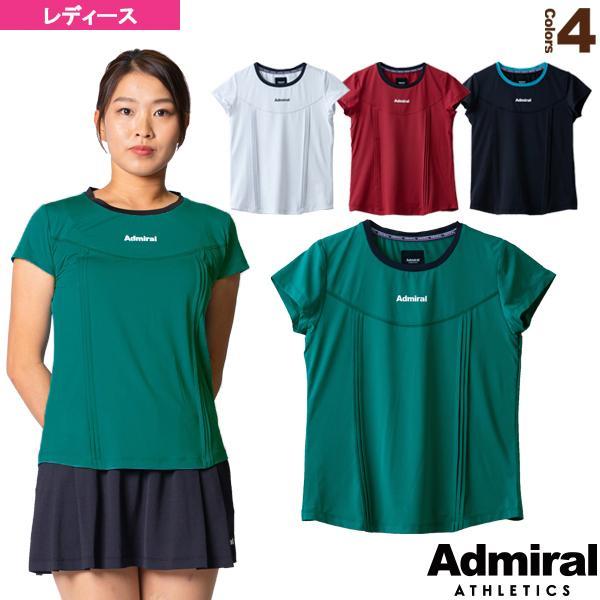 アドミラル(Admiral) テニス・バドミントンウェア(レディース)  フロントタックTシャツ/レディース(ATLA145)
