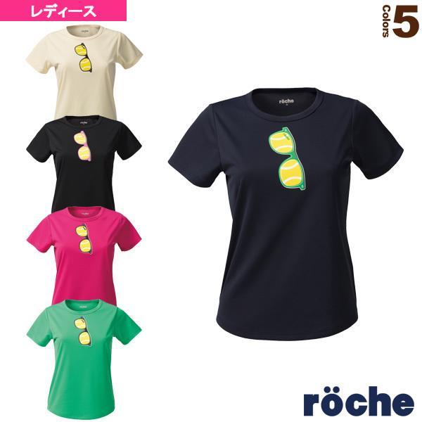 ローチェ(roche) テニス・バドミントンウェア(レディース)  プラクティスTシャツ/レディース(RE391)