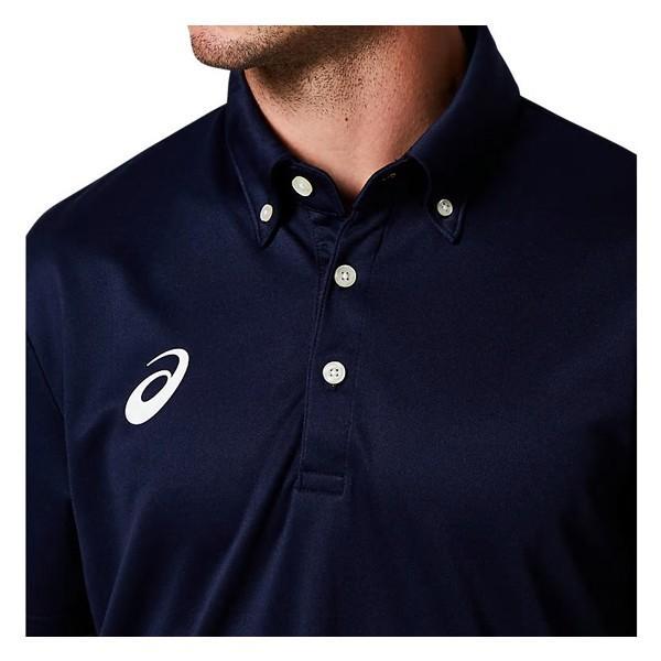 アシックス asics 半袖 ポロシャツ ボタンダウンシャツ 2031A682 メンズ|lucksports|05