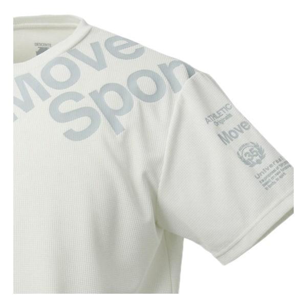 セール40%OFF デサント DESCENTE Move Sport ムーブスポーツ クアトロセンサー 半袖Tシャツ DMMNJA54|lucksports|06