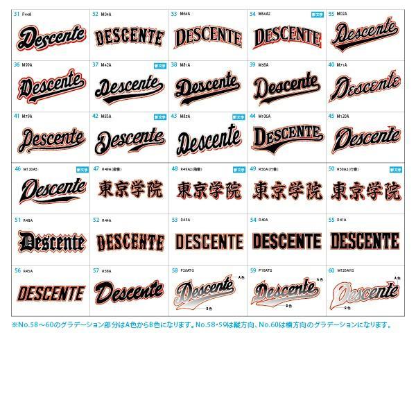DESCENTE デサント ベースボールシャツ マーキングセット Quick 100 II ベースボールシャツ DB-109B lucksports 05