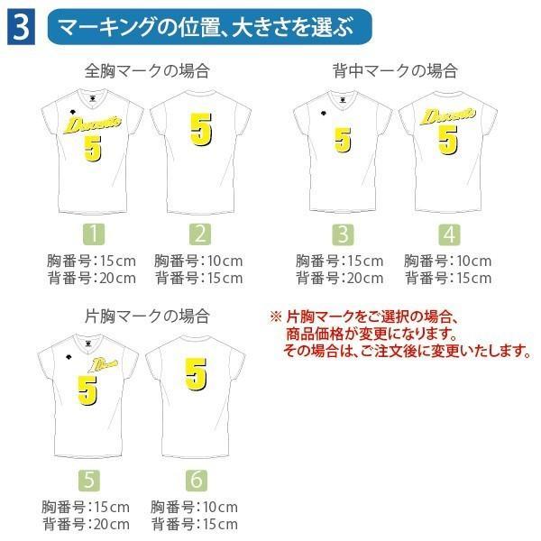 デサント バレーボール ゲームウェア Quick 100 ゲームシャツ・パンツセット DSS-4720 DSS-4710 クイック100|lucksports|04