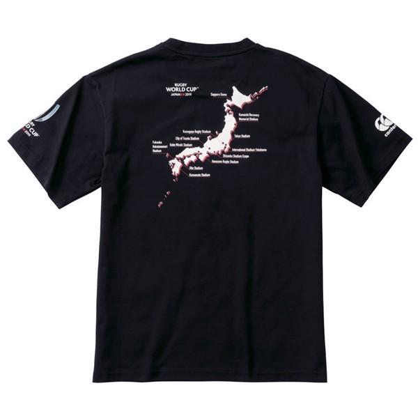 カンタベリー canterbury ラグビー ワールドカップ 2019 半袖 Tシャツ メンズ VWD39421|lucksports|03