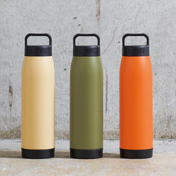 キャンプス 真空保冷温ボトル500ml 36個セット販売 3色取混ぜ  販促品  キャンプ  アウトドアレジャ