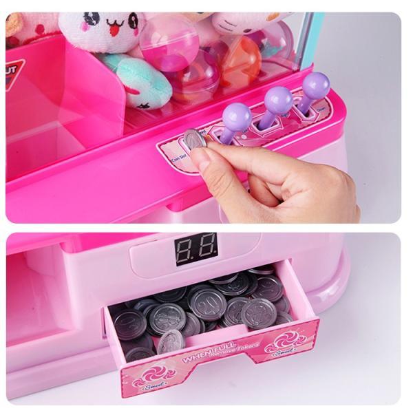 クレーンゲーム おもちゃ 家庭 自宅 ゲームセンター 誕生日 プレゼント 玩具 ギフト 本体 卓上 クリスマス pa007 lucky9 05