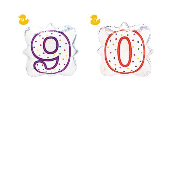 バルーン 誕生日 ギフト ミニオン バースデー お祝い 送料無料 選べる数字バルーン|luckyducky|05
