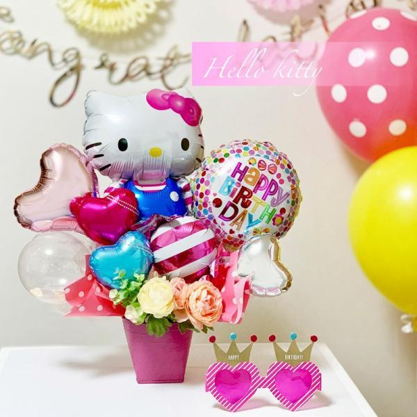 バルーン 誕生日 送料無料  ディズニー バルーンポット 女の子も選べるキャラクター|luckyducky|12