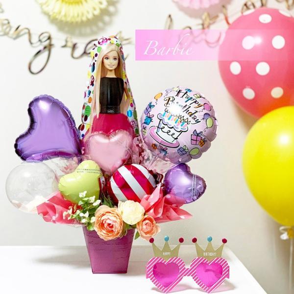 バルーン 誕生日 送料無料  ディズニー バルーンポット 女の子も選べるキャラクター|luckyducky|13