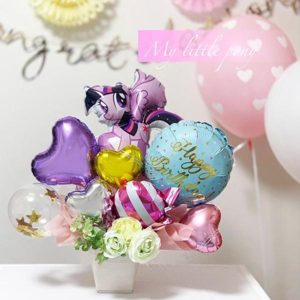 バルーン 誕生日 送料無料  ディズニー バルーンポット 女の子も選べるキャラクター|luckyducky|14