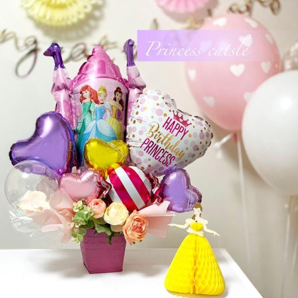 バルーン 誕生日 送料無料  ディズニー バルーンポット 女の子も選べるキャラクター|luckyducky|09