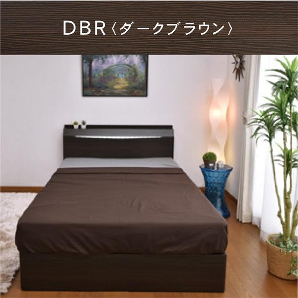 レビューで1年補償 ベッド (収納 収納つき) 宮付き ベット シングルベッド プライドZ(PRIDEZ)/ボンネルコイルマットレス付き-ART 収納ベッド 収納付き LED照明|luckykagu|05
