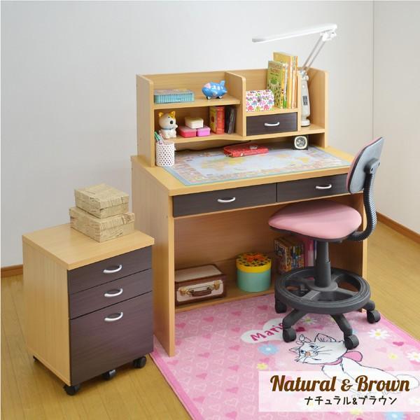 学習机 勉強机 学習デスク ララ(L型LEDデスクライト+椅子ラッキー付き)(DK203)-ART|luckykagu|05