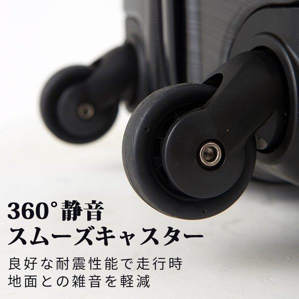 スーツケース 送料無料 中型 軽量 m TSA キャリーケース キャリーバッグ  ハード トランクケース かわいい 2個 TY001 luckypanda 05