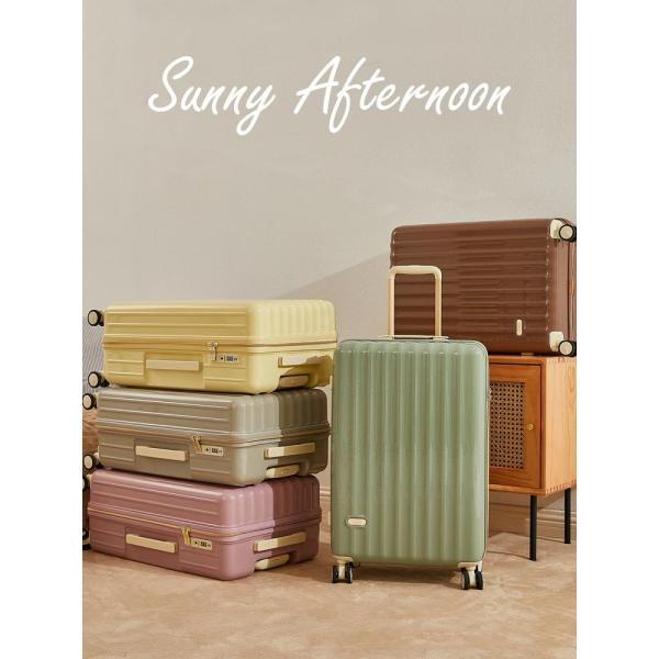 スーツケース 中型 軽量 TSAロック 旅行用 キャリーバッグ 旅行かばん キャリーケース おしゃれ 超軽量 トランク TSA 旅行バッグ MS017-IS-M luckypanda 02