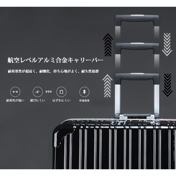 [1000円OFF 26日9:59まで]スーツケース 送料無料 機内持ち込み フレーム キャリーバッグ キャリーケース 小型 TY6801|luckypanda|06