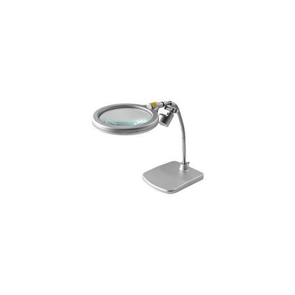 東京セイル スタンド式レンズ LEDライト付き RX-1500K-LED (スタンドルーペ・虫眼鏡・虫めがね・TSK)
