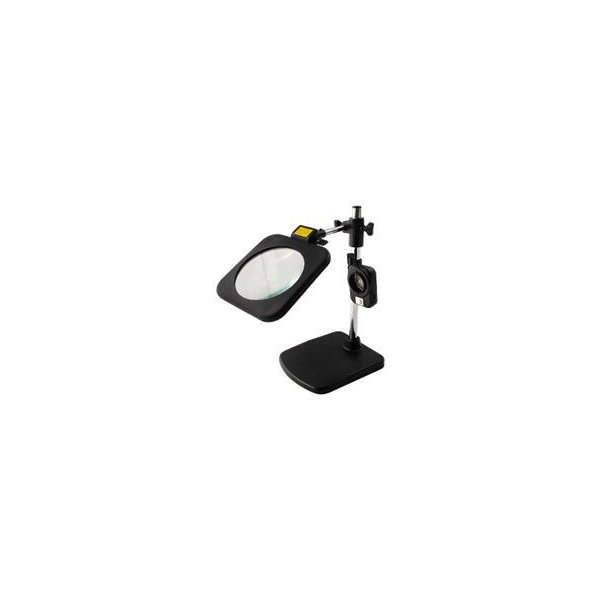 東京セイル スタンドルーペ LEDライト付き 130GML (虫眼鏡・虫めがね・TSK)