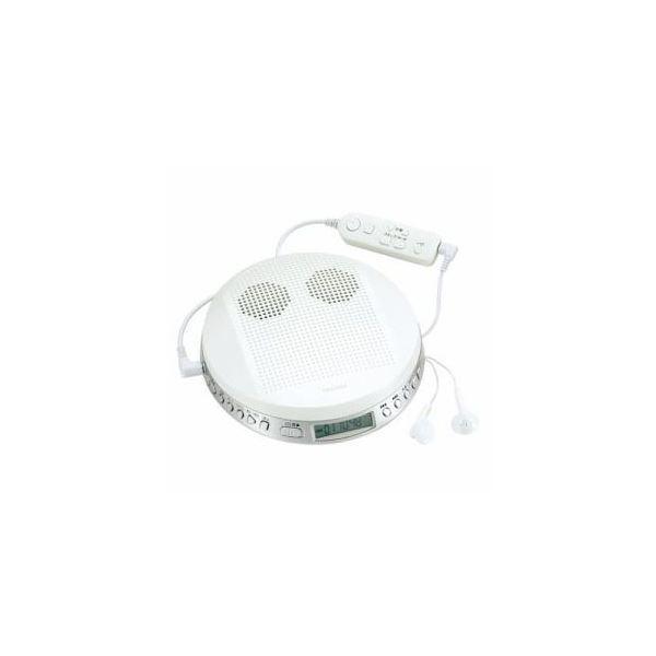 TOSHIBAポータブルCDプレーヤーホワイトTY-P2-W