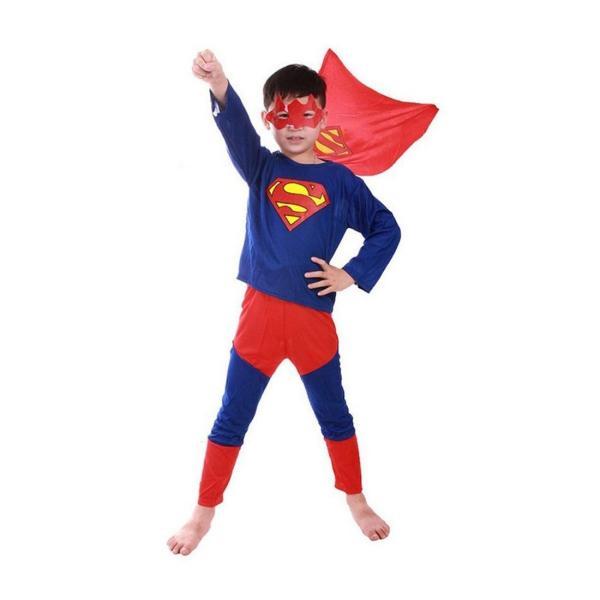 送料無料 スパイダーマン バットマン スーパーマン コスプレ キッズ パーティ イベント LKD-04|ludas|06