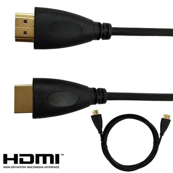 HDMIケーブル1m1.5m2m3mハイスピードHDMICABLE4KテレビLSF-023