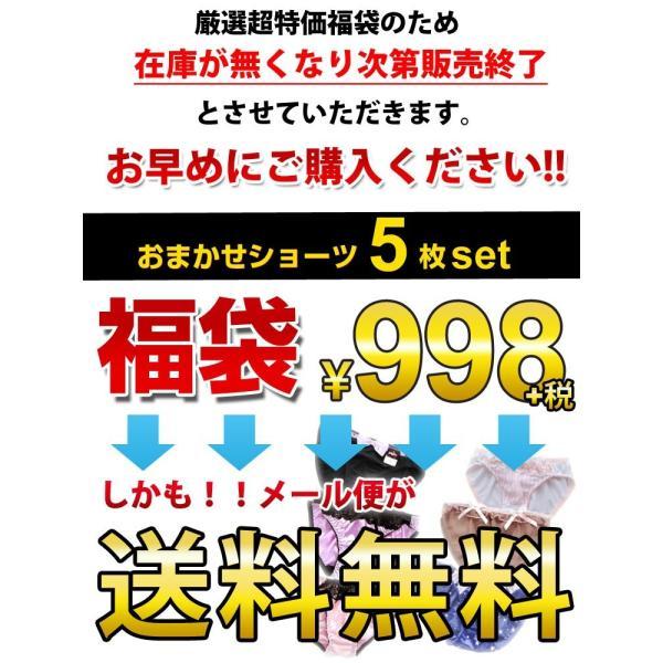送料無料 ショーツ 福袋 5枚セット 送料無料 レディース 下着 ZH-006|ludas|03