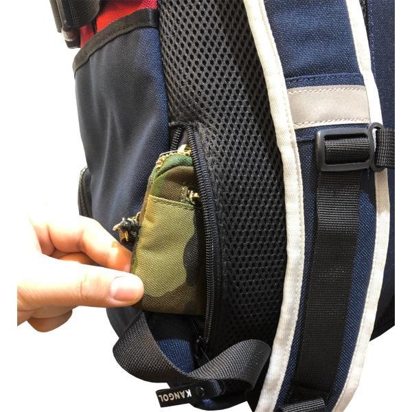 カンゴール リュック メッシュポケット 24L KANGOL RIDE ラウンド型 デイパック 多機能ポケット付き B4 250-1220|luggagemarket|11