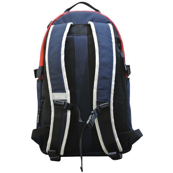 カンゴール リュック メッシュポケット 24L KANGOL RIDE ラウンド型 デイパック 多機能ポケット付き B4 250-1220|luggagemarket|12