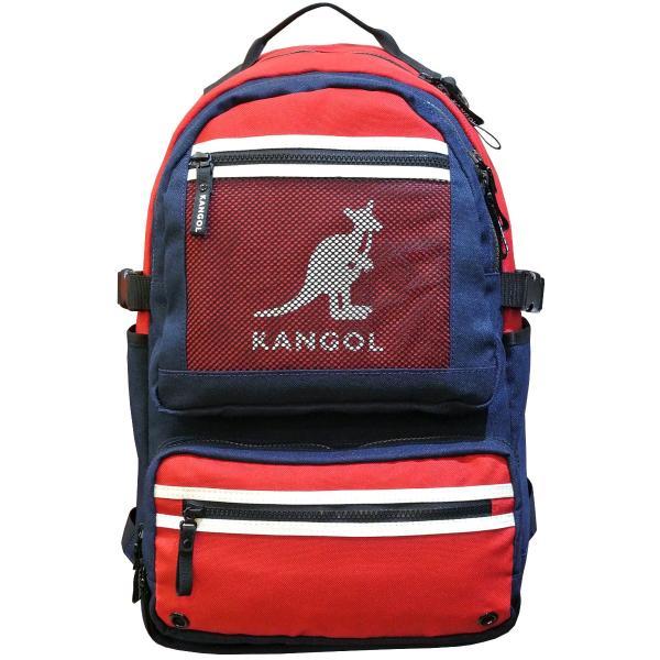 カンゴール リュック メッシュポケット 24L KANGOL RIDE ラウンド型 デイパック 多機能ポケット付き B4 250-1220|luggagemarket|15