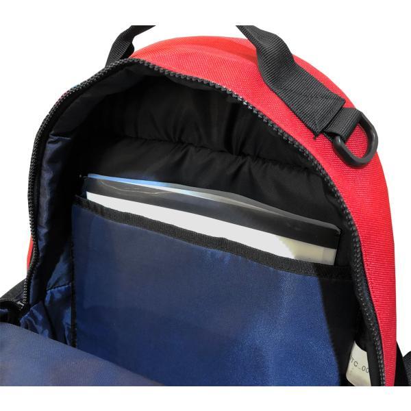 カンゴール リュック メッシュポケット 24L KANGOL RIDE ラウンド型 デイパック 多機能ポケット付き B4 250-1220|luggagemarket|07