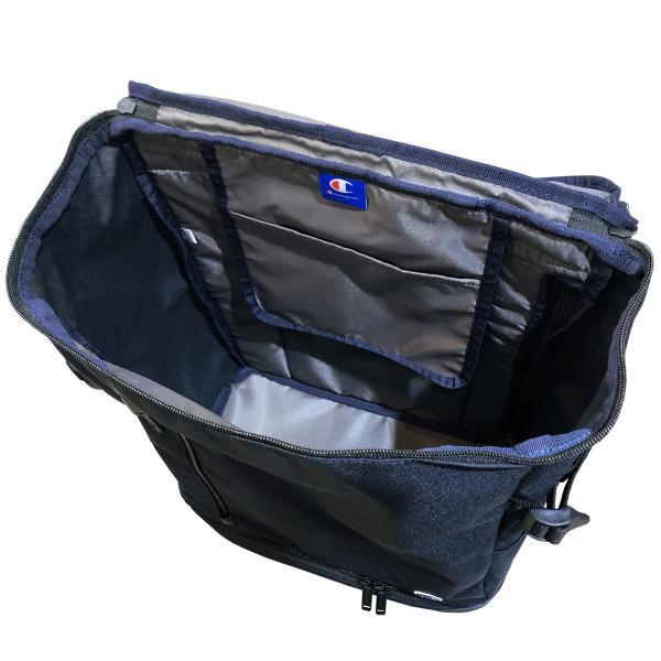 チャンピオン リュック ボックス型 2ルーム Champion グレイト 2層式 スクエア デイパック バックパック B4 55886|luggagemarket|08