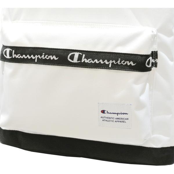 チャンピオン リュック ラウンド型 Champion ヒッコリー テープロゴ ラウンド デイパック バックパック A4 55893 luggagemarket 05