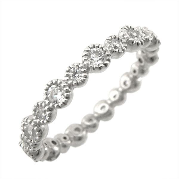 リング プラチナ900  フルエタニティ  リング アンティーク ダイヤリング PT900 結婚指輪  誕生日 記念日 指輪 ブライダル リング